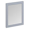 Burlington Framed 60 Mirror - Classic Grey profile small image view 1
