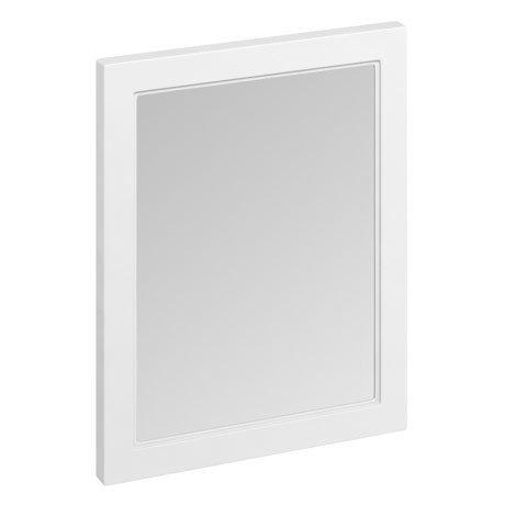 Burlington Framed 60 Mirror - Matt White