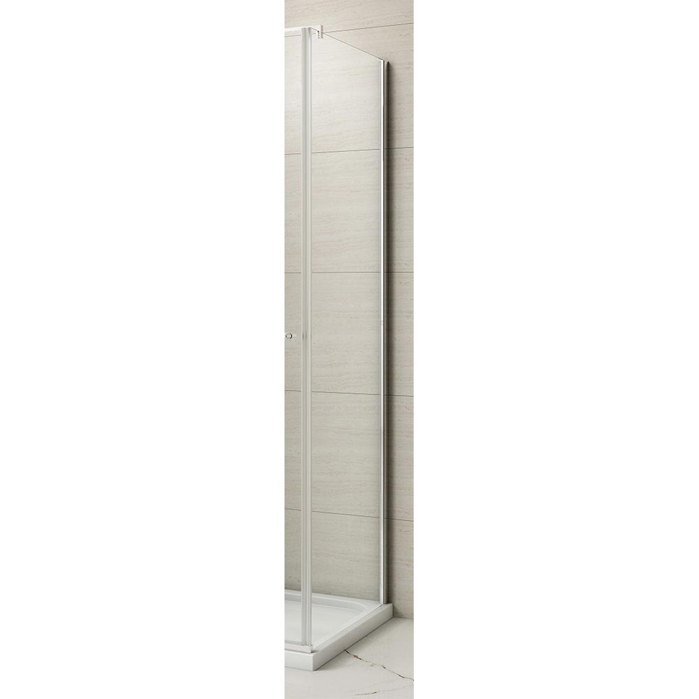 Merlyn 8 Series Frameless Hinged Bifold Side Panel Large Image