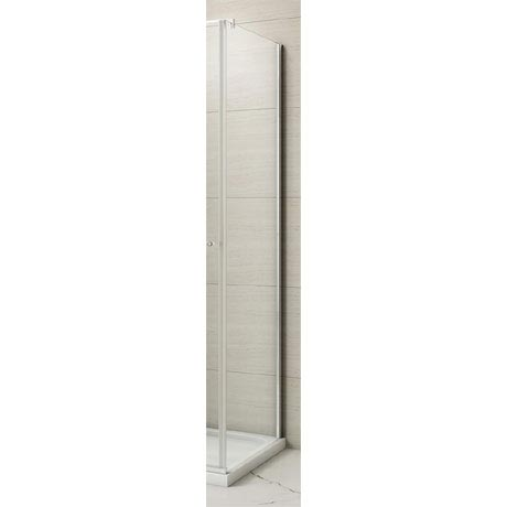 Merlyn 8 Series Frameless Hinged Bifold Side Panel