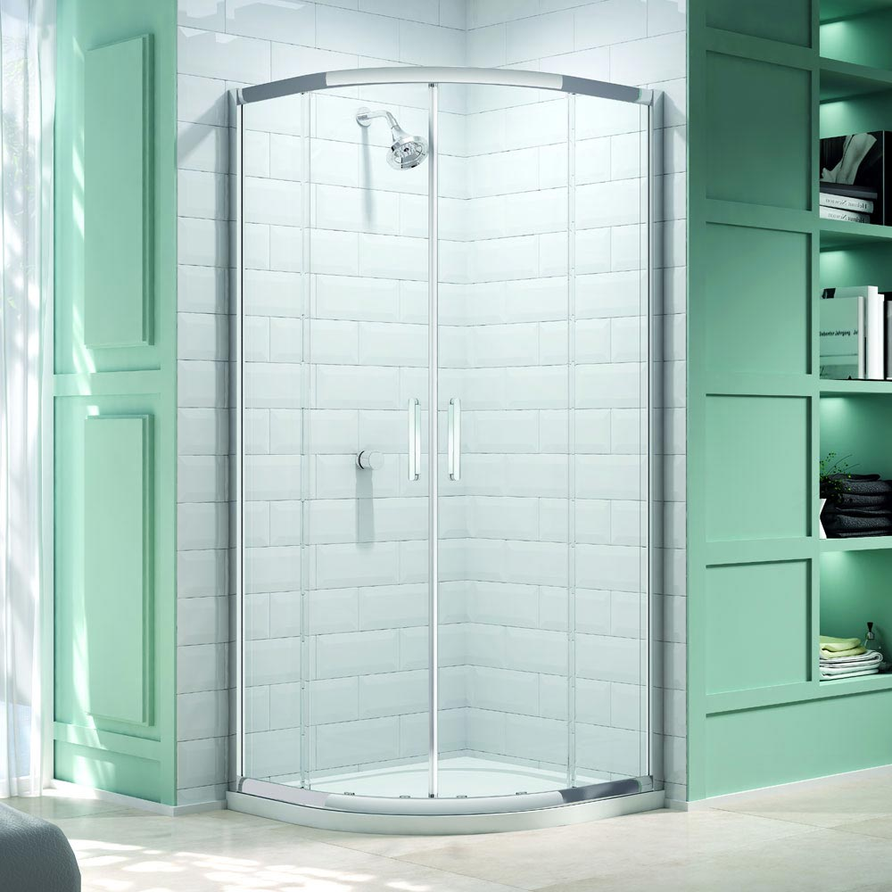 Merlyn 8 Series 2 Door Quadrant Enclosure (800 x 800mm) profile large image view 1