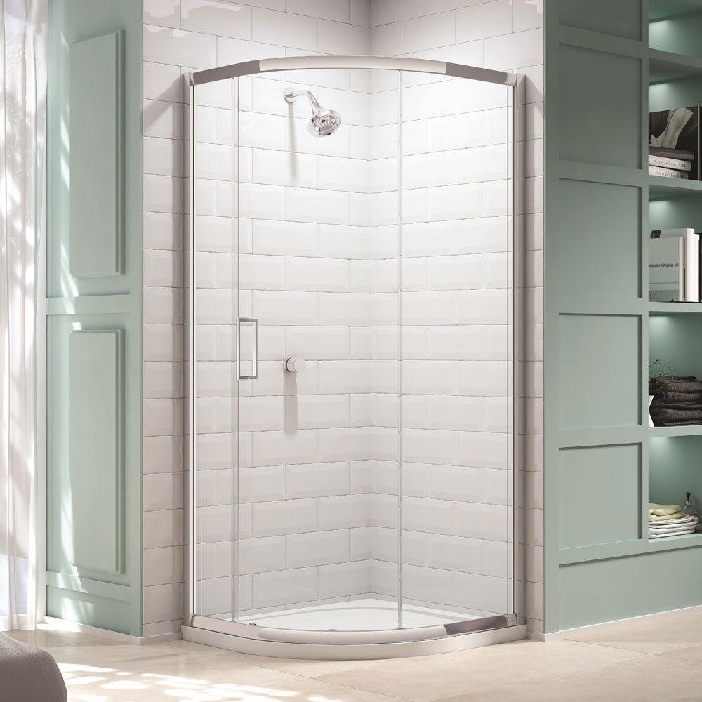 Merlyn 8 Series 1 Door Quadrant Enclosure (900 x 900mm) Large Image