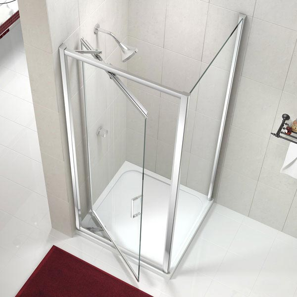 Merlyn 8 Series Infold Shower Door profile large image view 2