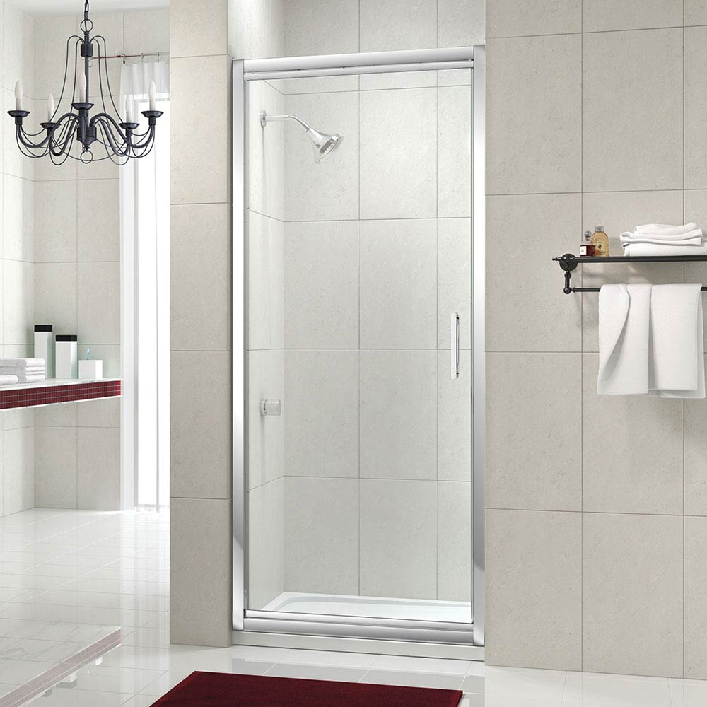 Merlyn 8 Series Infold Shower Door profile large image view 1