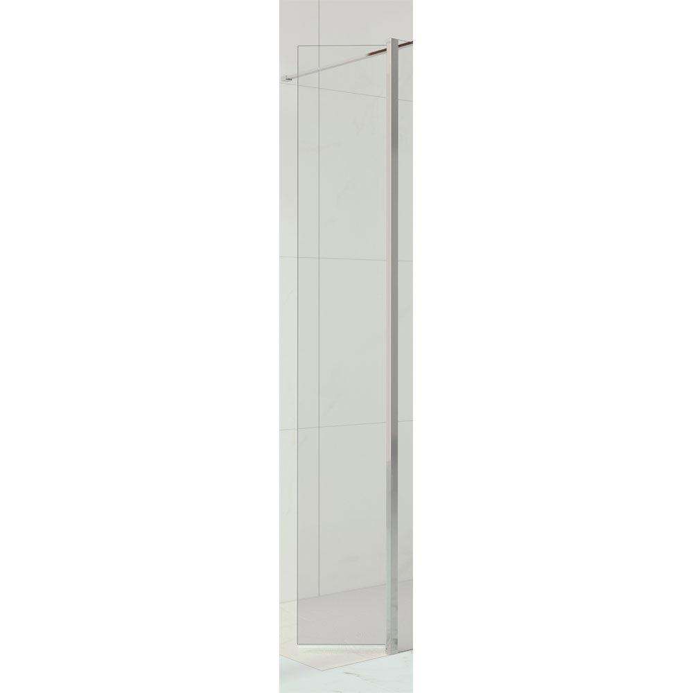 Merlyn 10 Series 300mm Swivel Wetroom Panel Large Image