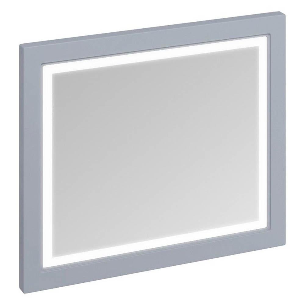 Burlington Framed 90 Mirror with LED Illumination - Classic Grey