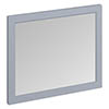 Burlington Framed 90 Mirror - Classic Grey profile small image view 1