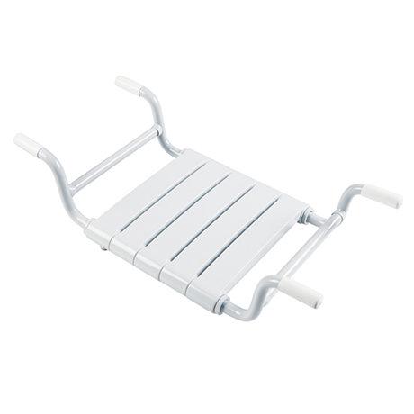 Milton Adjustable (650-800mm) Removable Bath Seat with Slats