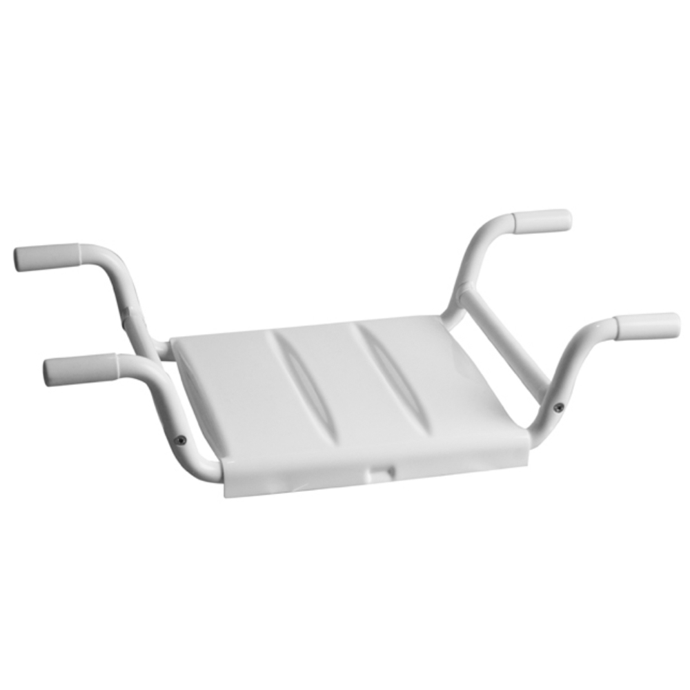Milton Removable Bath Seat - White
