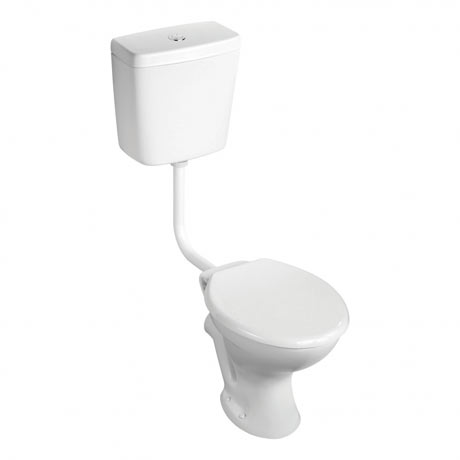 Armitage Shanks Sandringham 21 Magnia Low Level WC with Push Button Flush + Soft Close Seat