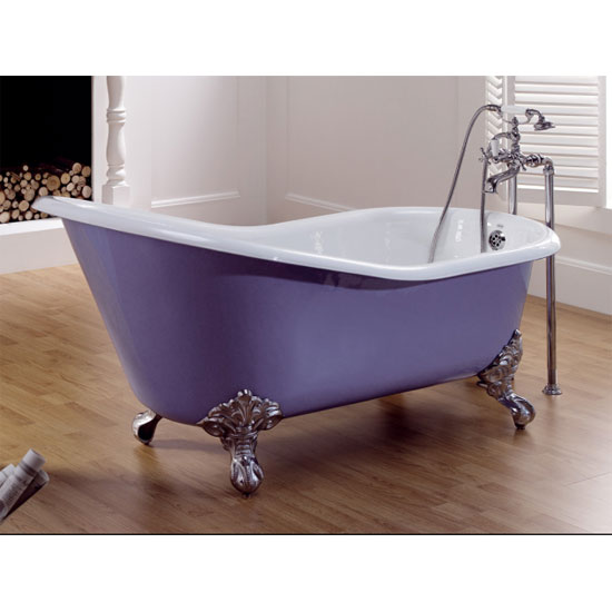 TC - Cast Iron Mallard Single Ended Slipper Bath - TC-MALLARD