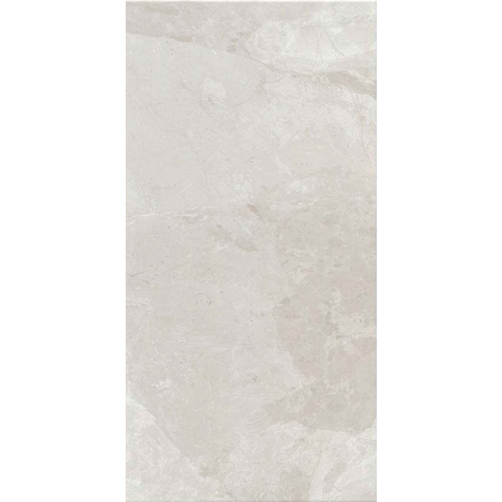 Casca White Matt Wall Tiles - 30 x 60cm  In Bathroom Large Image