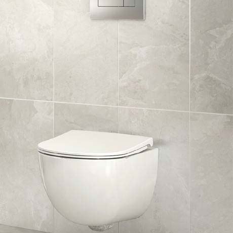 Casca White Matt Wall Tiles - 30 x 60cm