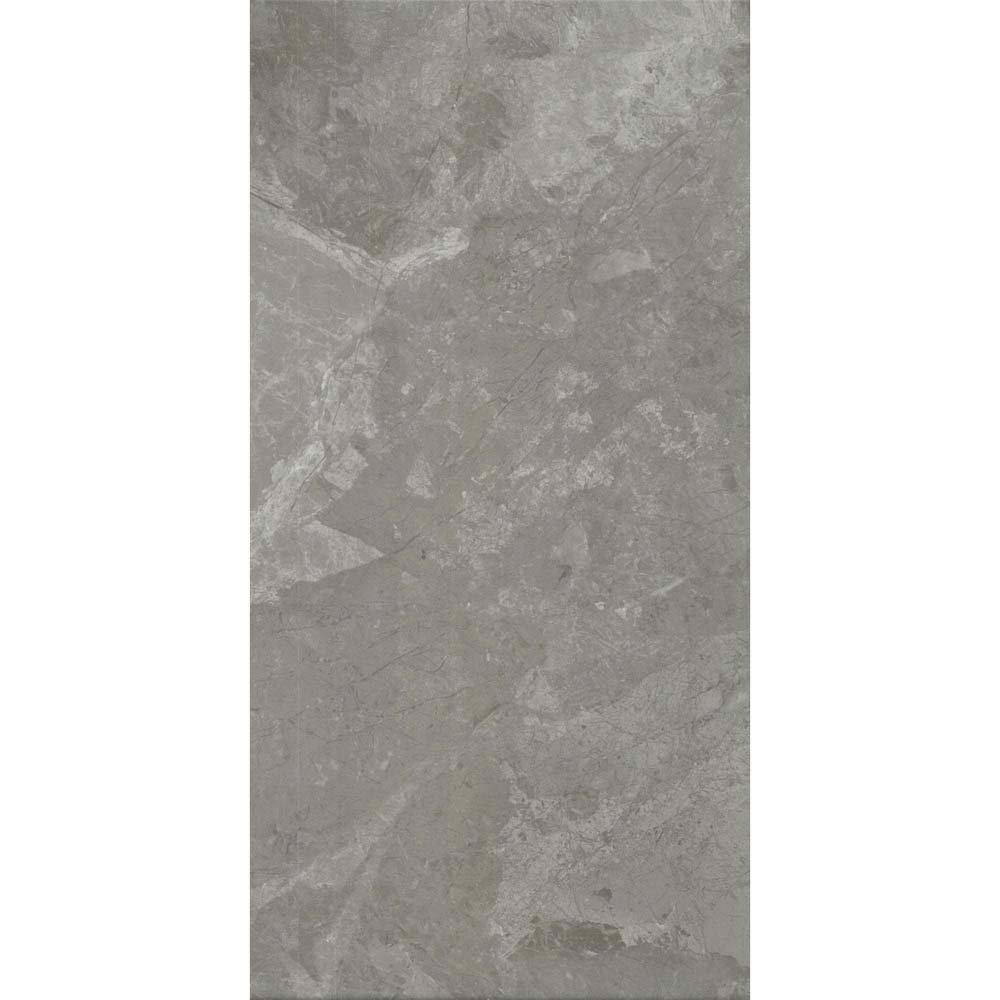 Casca Grey Matt Wall Tiles - 30 x 60cm  In Bathroom Large Image