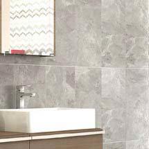 Casca Grey Matt Wall Tiles - 30 x 60cm Medium Image