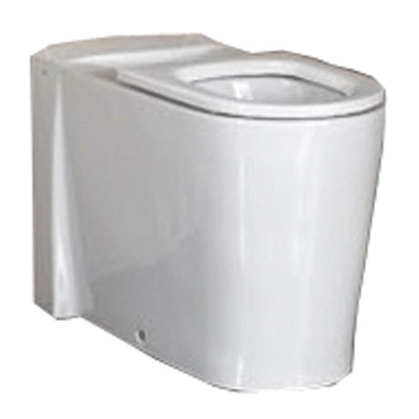 Vitra Matrix Accessible Back to Wall Pan with Seat Large Image
