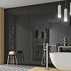 Mataro Black Gloss Wall Tiles - 125 x 250mm Small Image