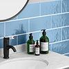 Mataro Blue Gloss Wall Tiles - 125 x 250mm Small Image