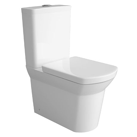 Hudson Reed Maya BTW Close Coupled Toilet + Soft Close Seat