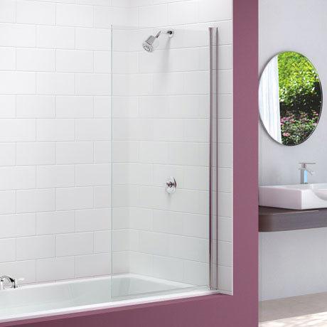 Merlyn Single Square Bath Screen (800 x 1500mm)