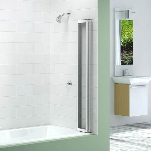 Merlyn Four Fold Bath Screen (850 x 1400mm)  Feature Large Image