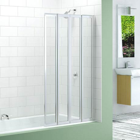 Merlyn Four Fold Bath Screen (850 x 1400mm)