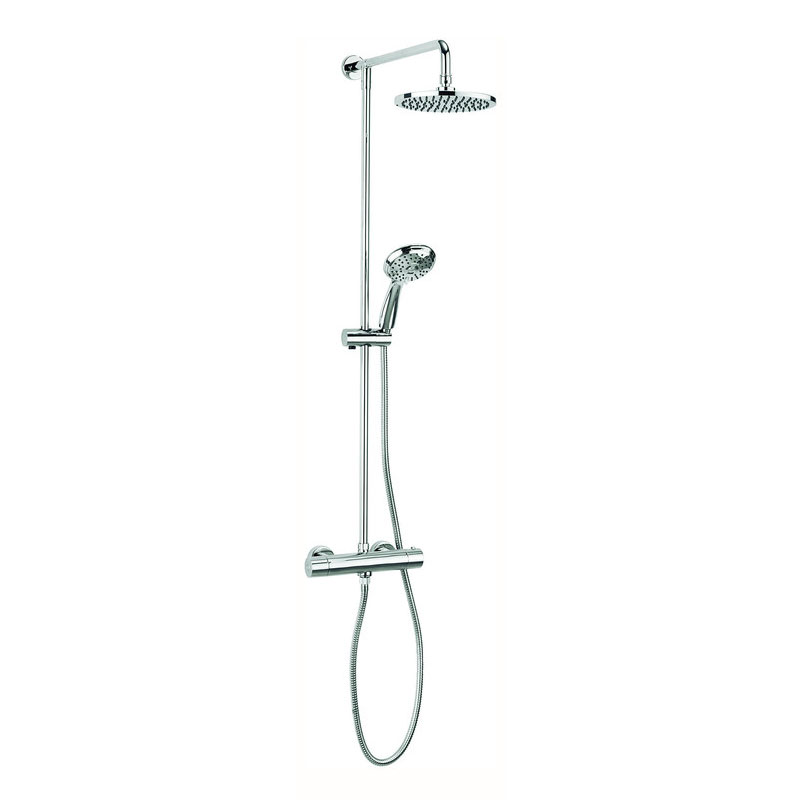 Adora - Fusion Multifunction Thermostatic Shower Valve with Fixed Head and Shower Kit - MB500RM Large Image