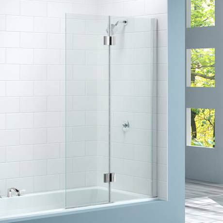 Merlyn Two Panel Hinged Bath Screen (900 x 1500mm)