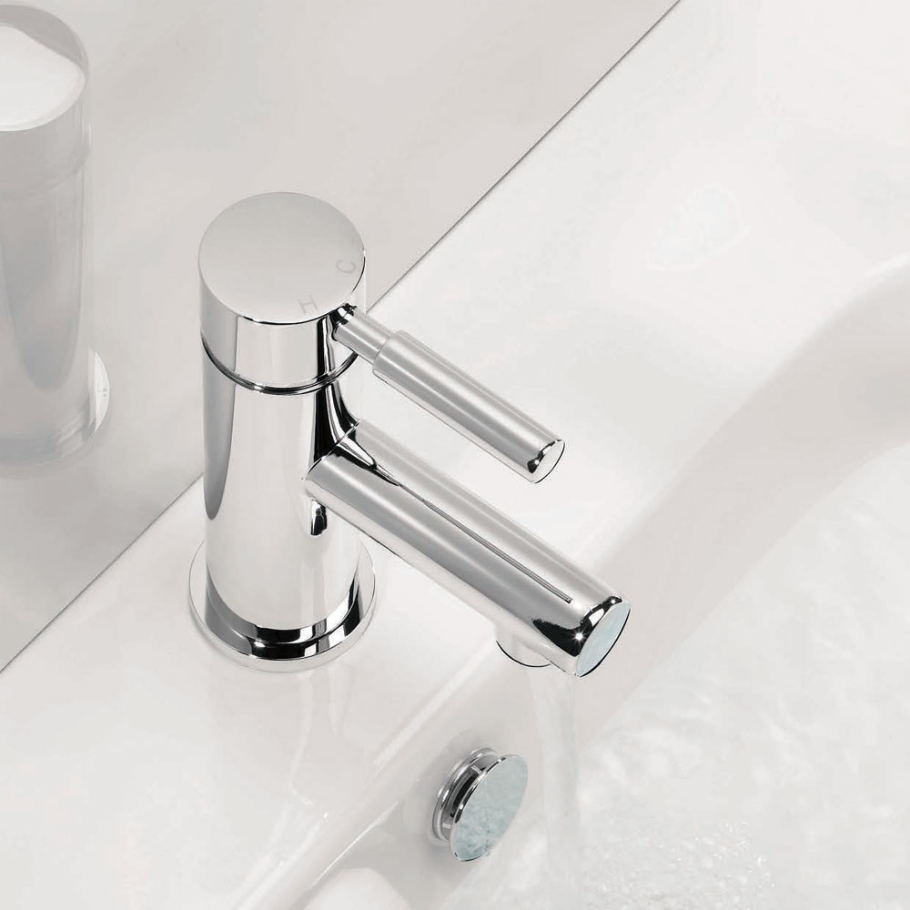 Adora - Aqua Monobloc Basin Mixer - MBAQ110N Profile Large Image