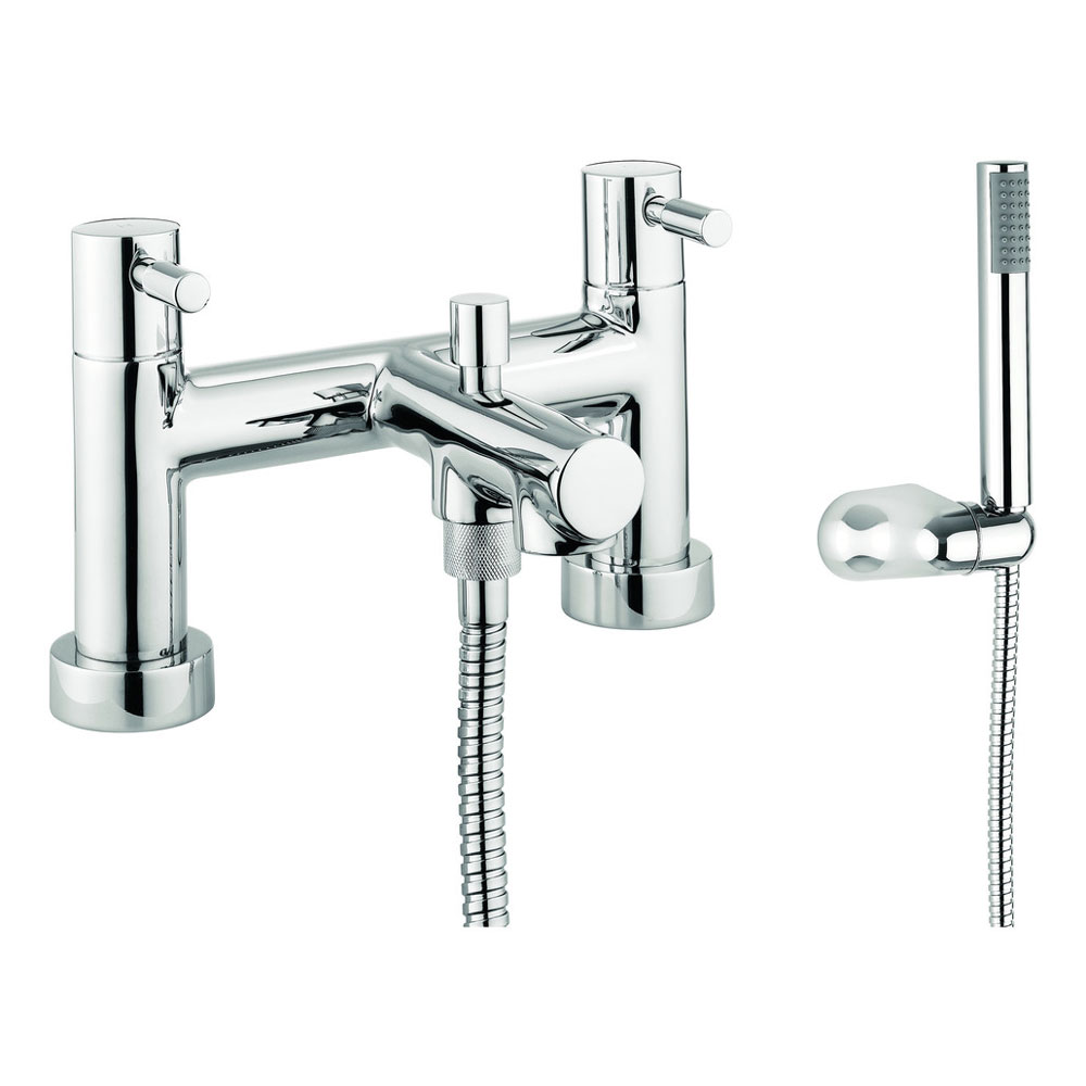 Adora - Aqua Dual Lever Bath Shower Mixer with Kit - MBAQ422D Large Image