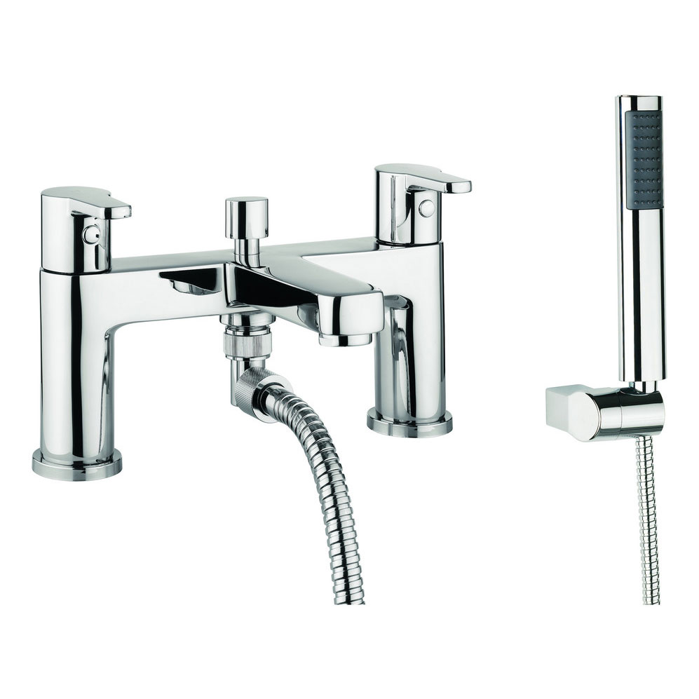 Adora - Feel Dual Lever Bath Shower Mixer with Kit - MBFE422D Large Image