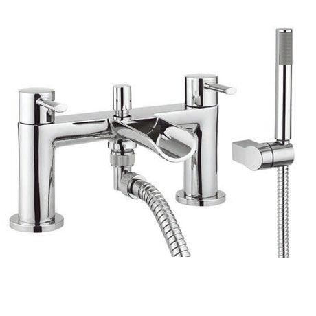 Adora - Flume Dual Lever Bath Shower Mixer with Kit - MBFL422D