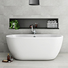 Metro 1655 Free Standing Modern Bath profile small image view 1