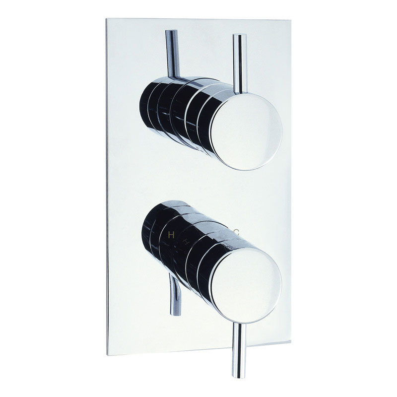 Adora - Fusion Thermostatic Shower Valve with 2 Way Diverter - MBFU1500RC Large Image