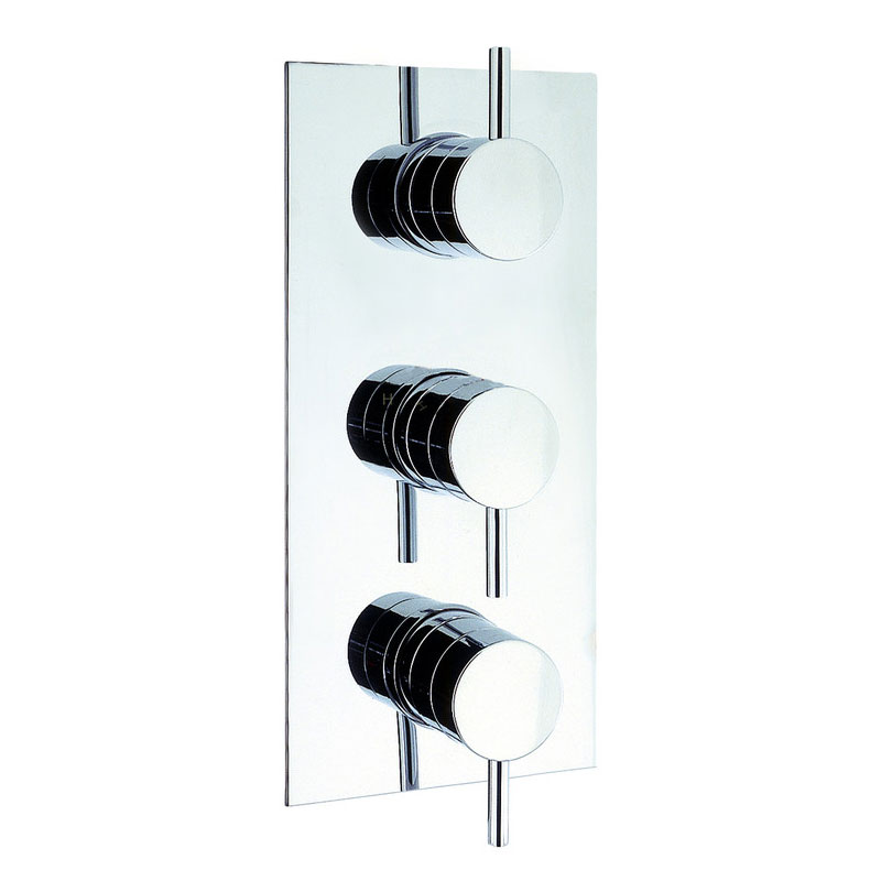Adora - Fusion Triple Concealed Thermostatic Shower Valve - MBFU2000RC Large Image