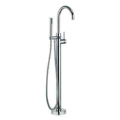 Adora - Fusion Floor Mounted Freestanding Bath Shower Mixer - MBFU416F