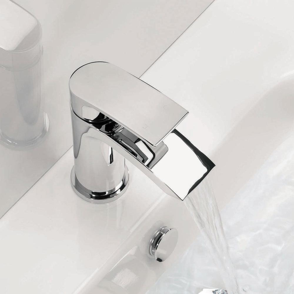 Adora - Flow Monobloc Basin Mixer Inc. Waste - MBFW110P+  Profile Large Image
