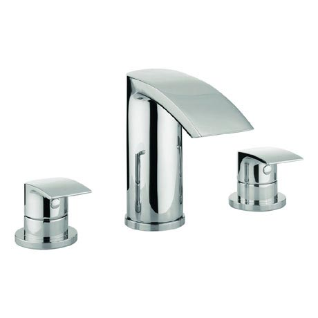 Adora - Flow 3 Tap Hole Bath Filler - MBFW330D