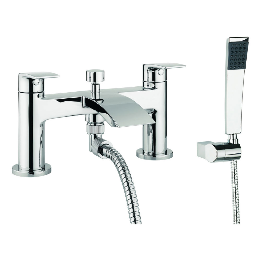 Adora - Flow Dual Lever Bath Shower Mixer with Kit - MBFW422D Large Image