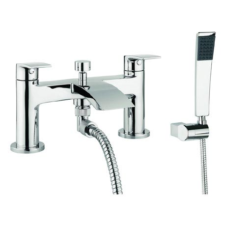 Adora - Flow Dual Lever Bath Shower Mixer with Kit - MBFW422D