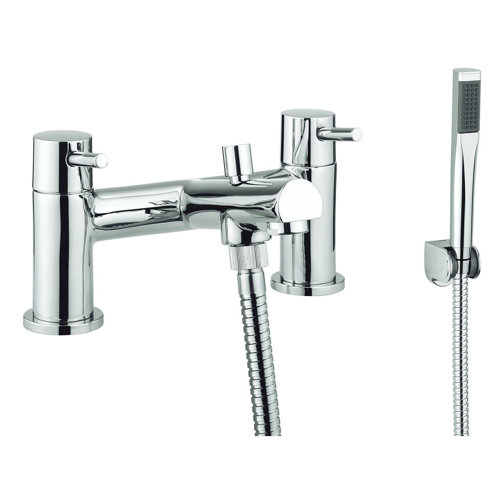 Adora - Globe2 Dual Lever Bath Shower Mixer with Kit - MBGO422D+ Large Image