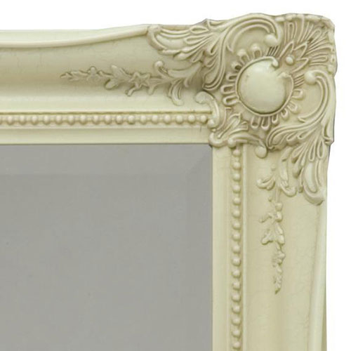 Heritage Balham Mirror (910 x 660mm) - Cream Profile Large Image