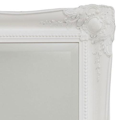 Heritage Balham Mirror (910 x 660mm) - White Profile Large Image