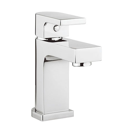 Crosswater Planet Mini Monobloc Basin Mixer + Waste - MBPS114P+