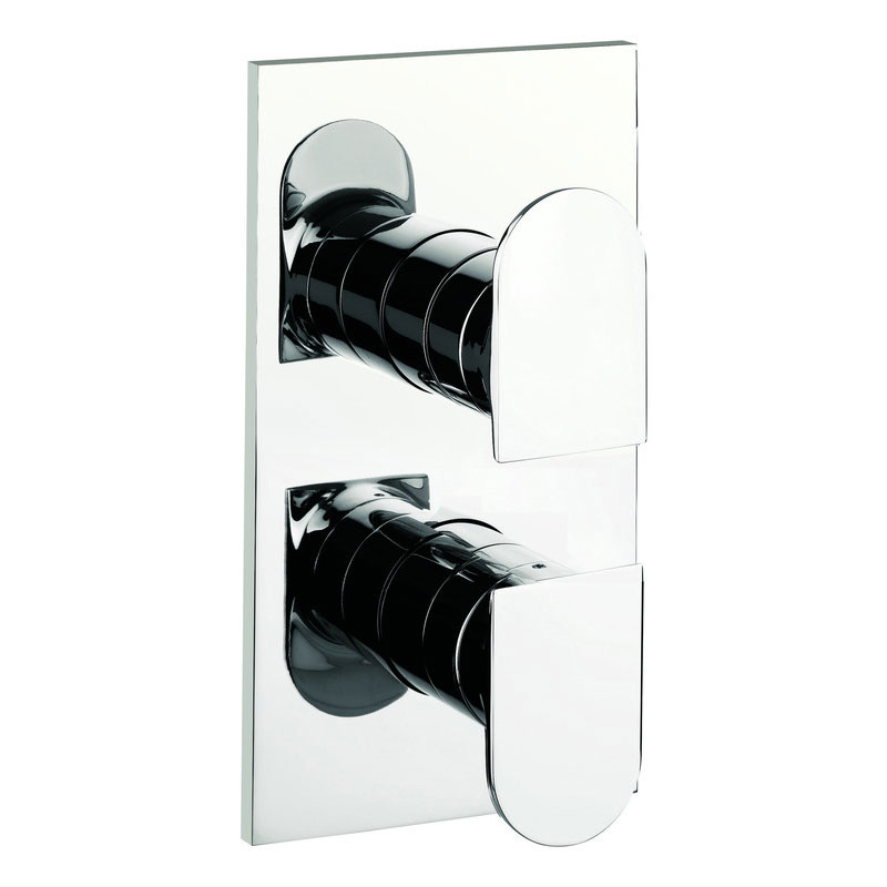 Adora - Planet Thermostatic Shower Valve with 2 Way Diverter - MBPS1500RC profile large image view 1