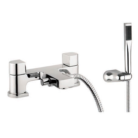 Adora - Planet Dual Lever Bath Shower Mixer with Kit - MBPS422D Large Image