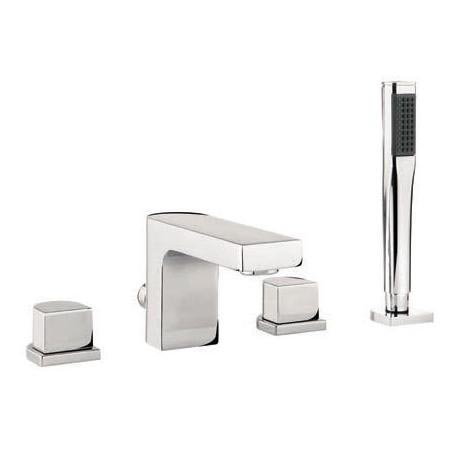 Adora - Planet 4 Hole Bath Shower Mixer with Kit - MBPS440D