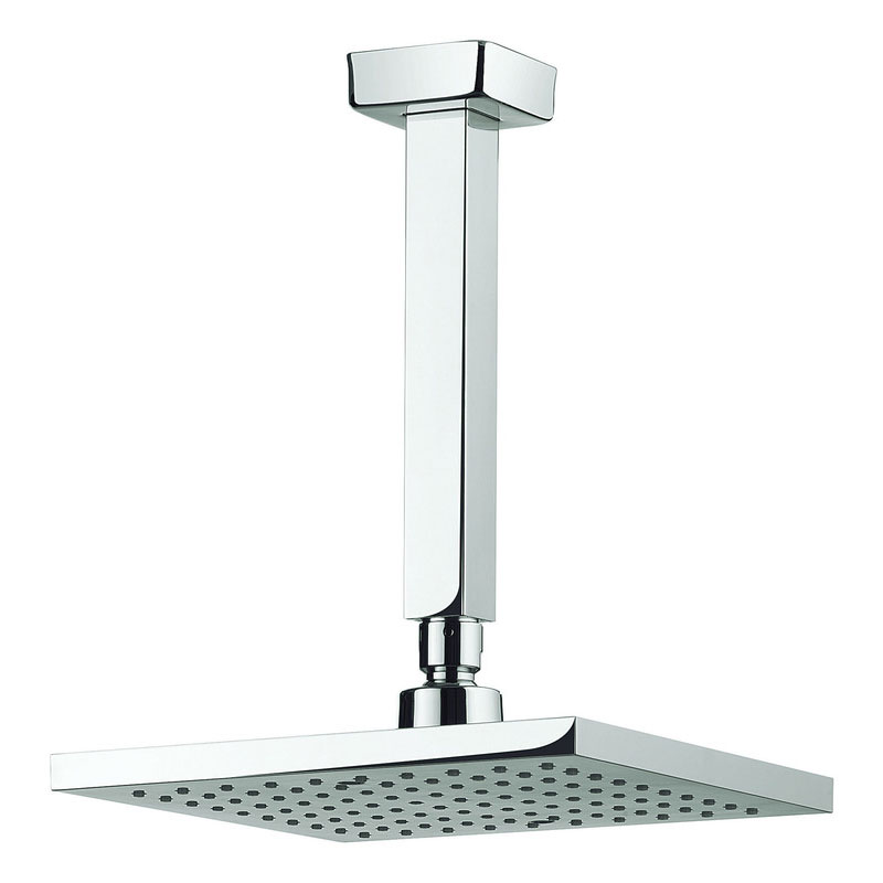 Adora - Planet 200mm Square Fixed Head & Ceiling Mounted Arm - MBPSAF20 Large Image