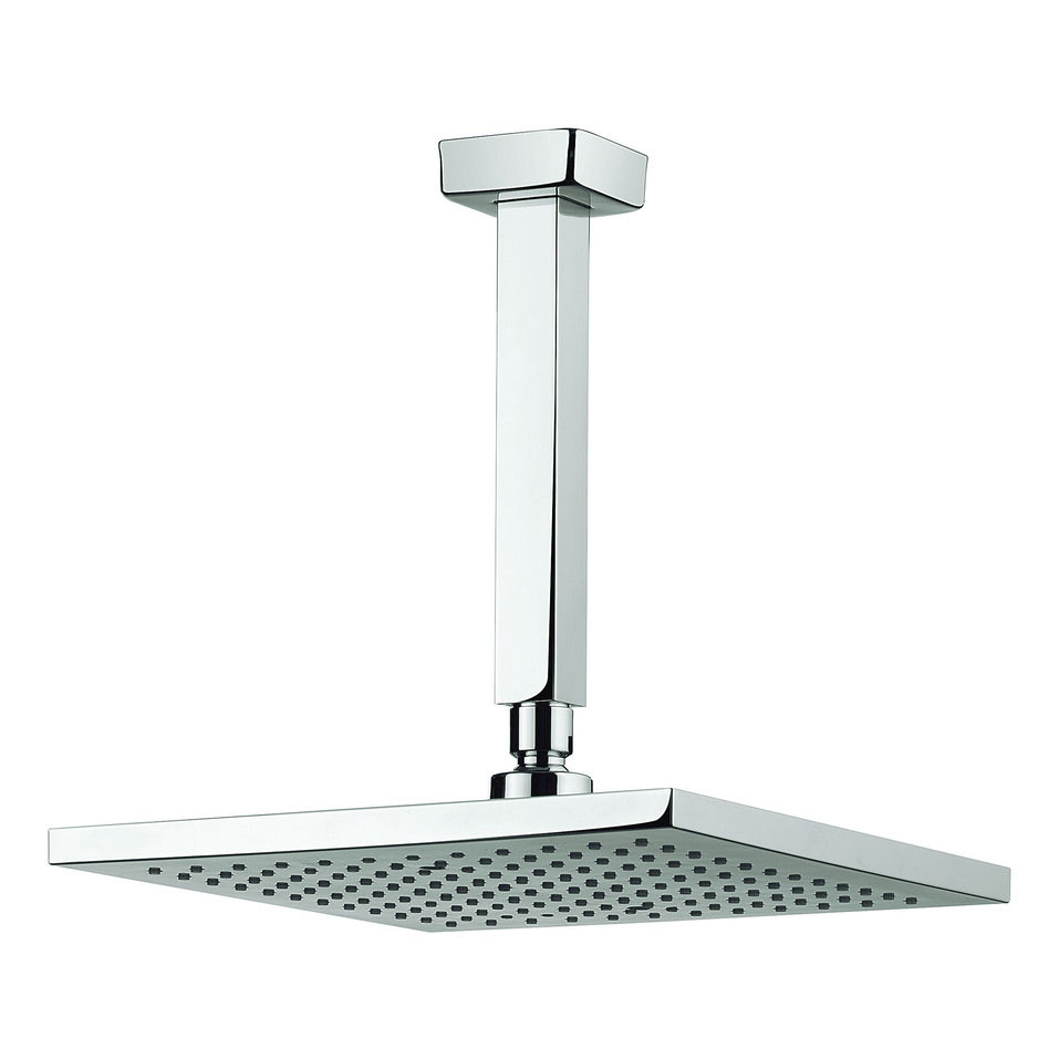 Adora - Planet 250mm Square Fixed Head & Ceiling Mounted Arm - MBPSAF25 Large Image