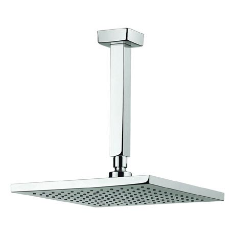 Adora - Planet 250mm Square Fixed Head & Ceiling Mounted Arm - MBPSAF25